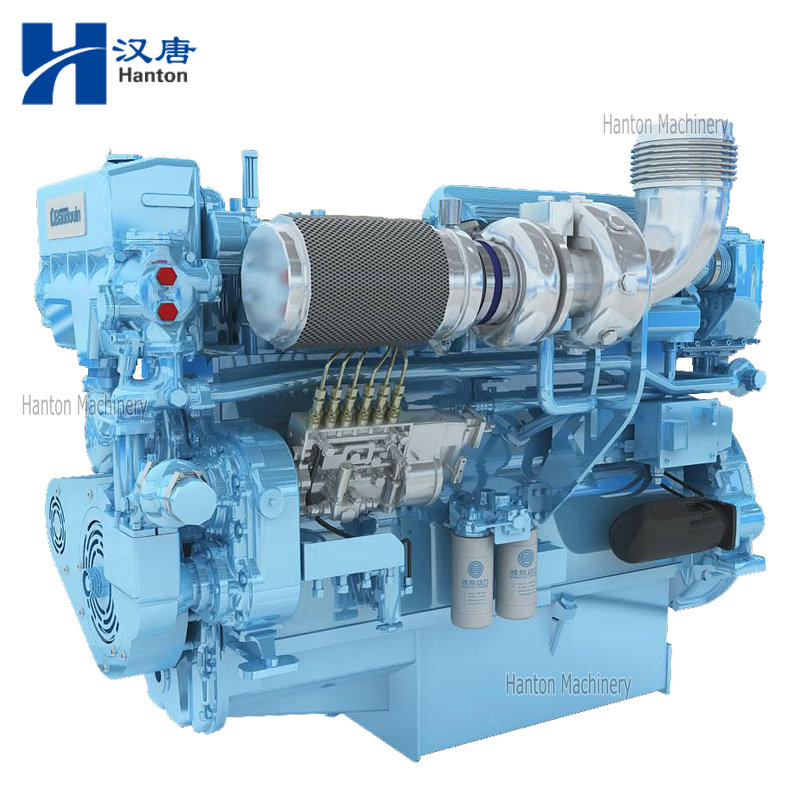 Weichai Baudouin Engine 6M26.2 Series for Marine Propulsion